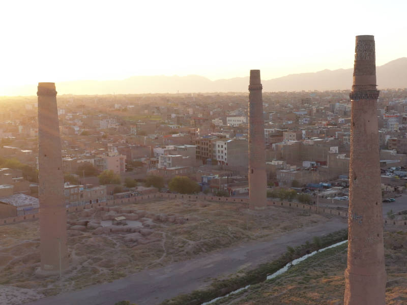 Ancient sites in Herat