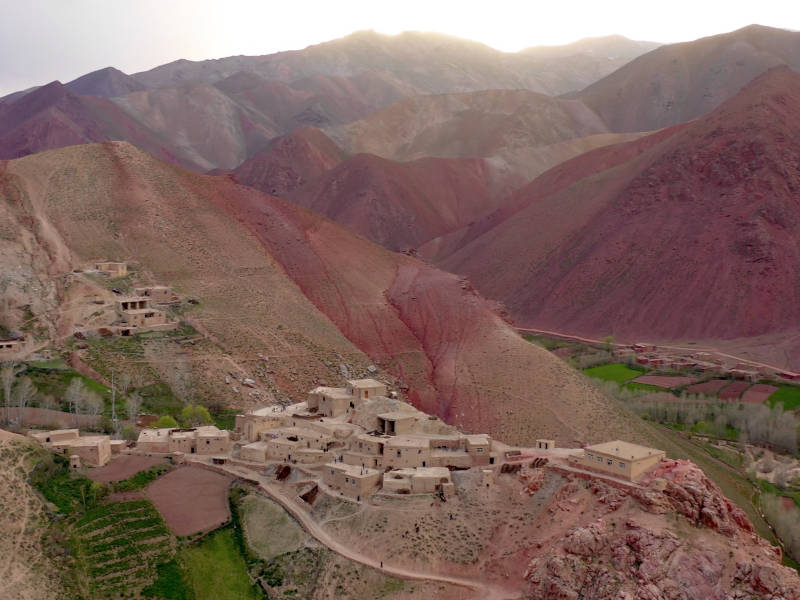 Villages in Afghanistan